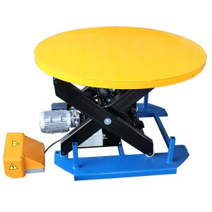 HRL1000 โต๊ะยกเครื่องเขียนพร้อมจานหมุนแบบหมุน