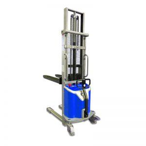 MSS1016 semi-electric lift stacker